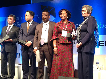 Ghana Wins Global Extractive Industry Transparency Award