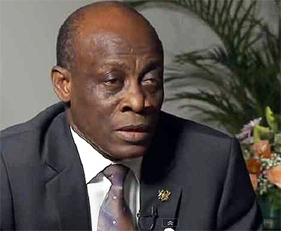 Hon. Seth Terkper - Minister of Finance